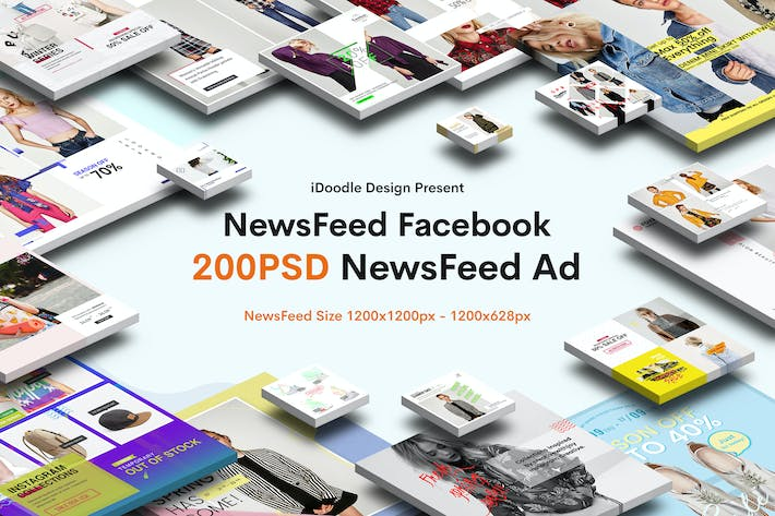 Thumbnail for Fashion Sale News Feed Facebook Ad