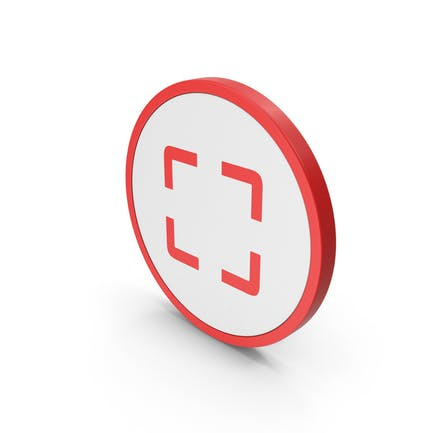 Icon Fullscreen Red