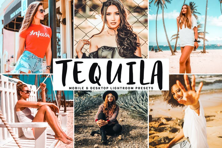 Thumbnail for Tequila Mobile & Desktop Lightroom Presets
