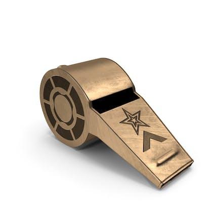 whistle Bronze
