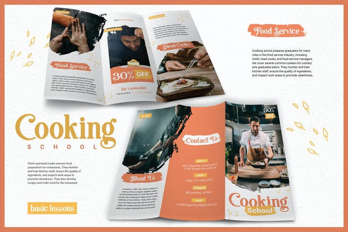 Thumbnail for Fun Brush Cooking School - Brochure