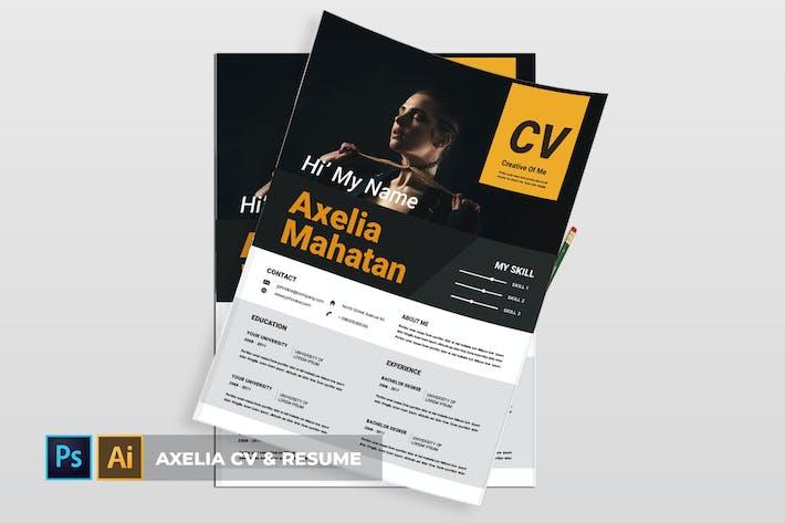 Thumbnail for Axelia | CV & Resume
