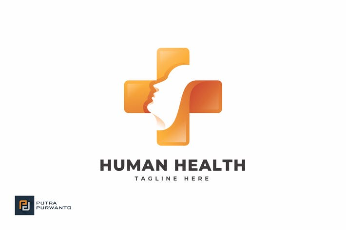 Thumbnail for Human Health - Logo Template