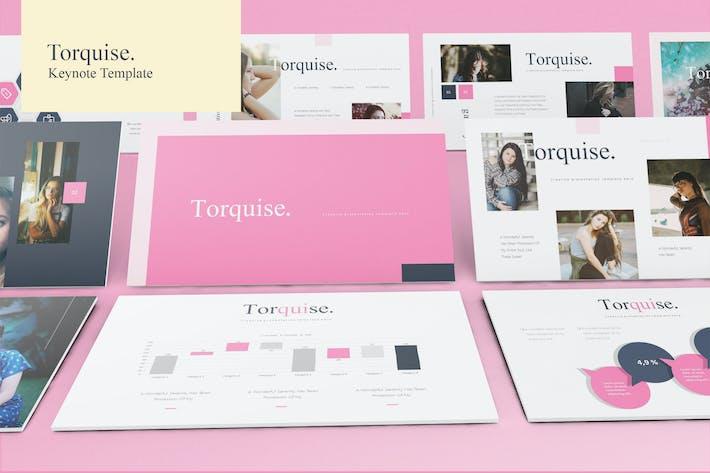 Thumbnail for Torquise - Plantilla Keynote