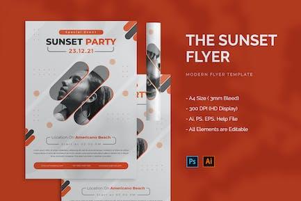 Sunset - Flyer