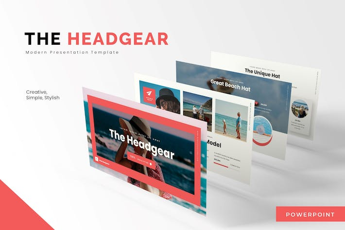 Thumbnail for The Headger - Powerpoint Template