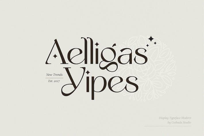 Tipo de letra de visualización Yipes