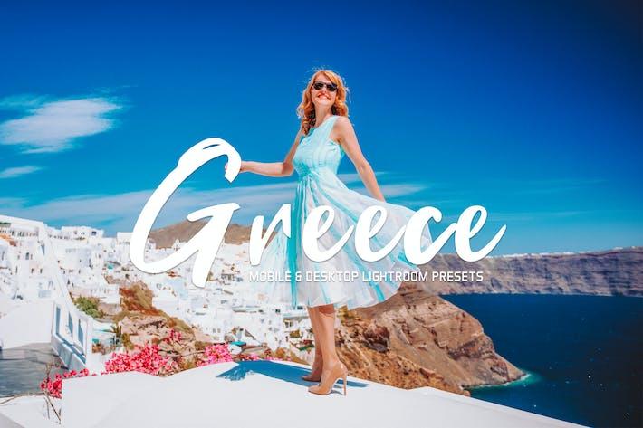 Thumbnail for Greece Mobile & Desktop Lightroom Presets