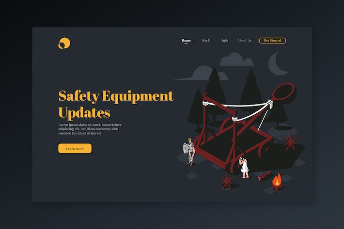 Thumbnail for Safety Equipment Updates - Isometric Landing Page