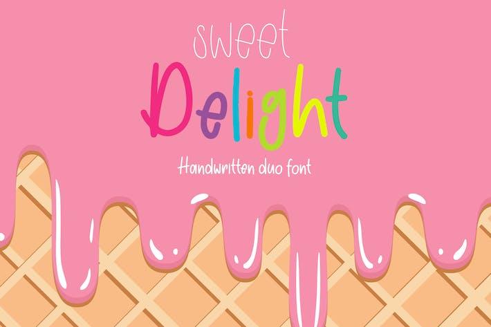 Thumbnail for Sweet Delight - Fuente Dúo manuscrita