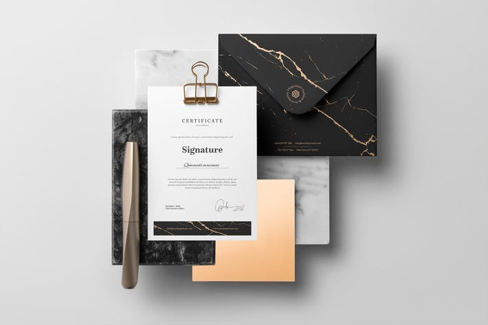 Thumbnail for Signature Branding Mockup Vol. 2