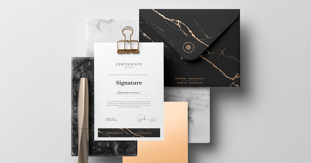 Download Signature Branding Mockup Vol. 2 by Genetic96