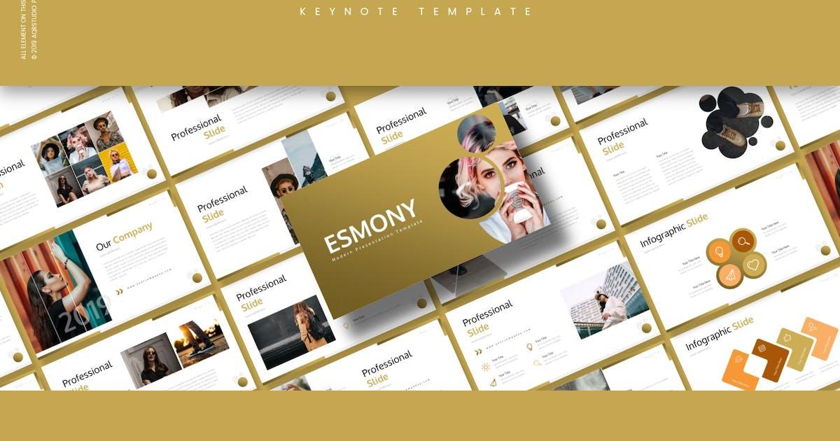 Download Esmony - Keynote Template by aqrstudio