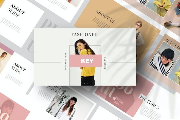 Thumbnail for Fashion Lookbook Keynote