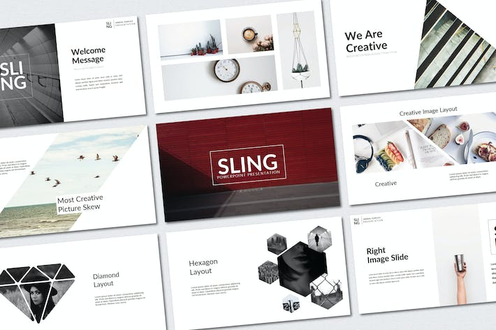 Thumbnail for Sling Minimal | Powerpoint Templates