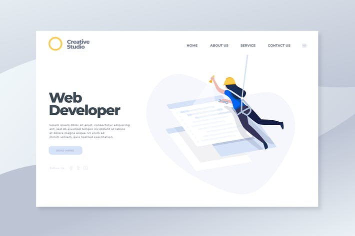 Thumbnail for Web  Development - Landing Page
