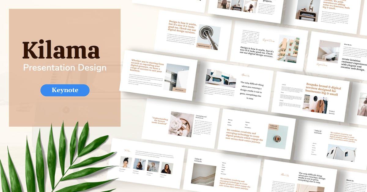 Download Kilama - Product Presentation Template Keynote by sudutlancip
