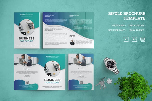 Business For Future - Bifold Brochure