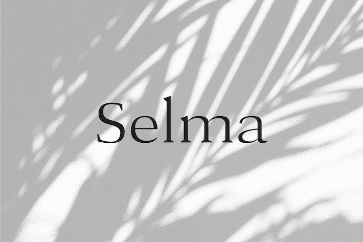 Thumbnail for Selma - A Classy Con serifa Tipo de letra