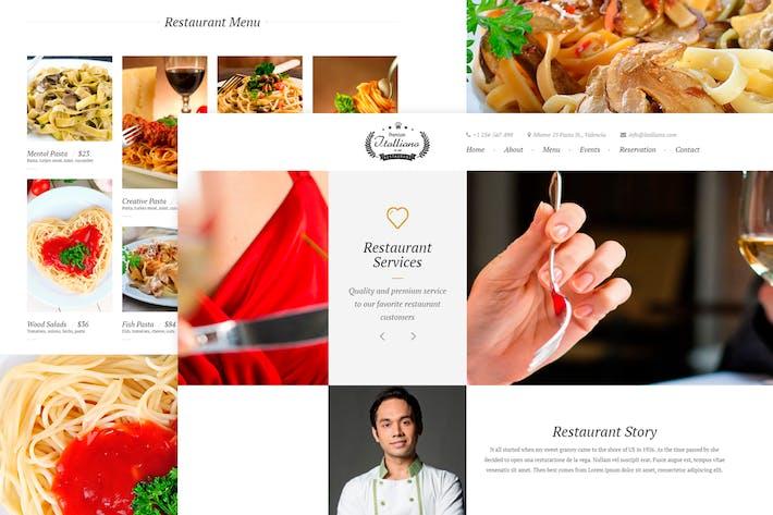 Thumbnail for Italliano - Clean Premium Restaurant Template