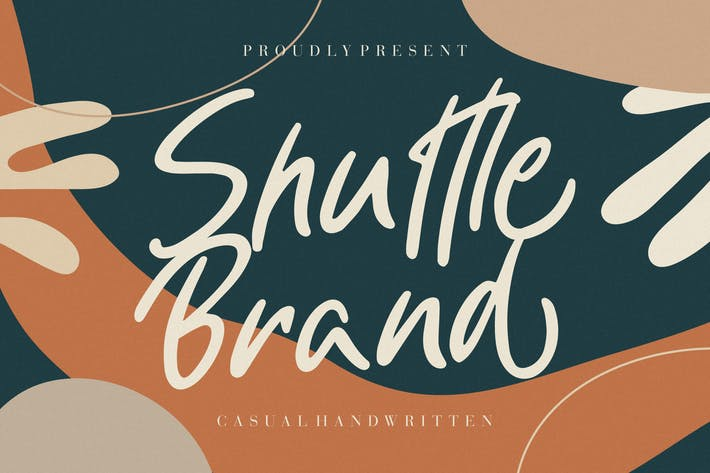 Thumbnail for Shuttle Brand Casual Handwritten