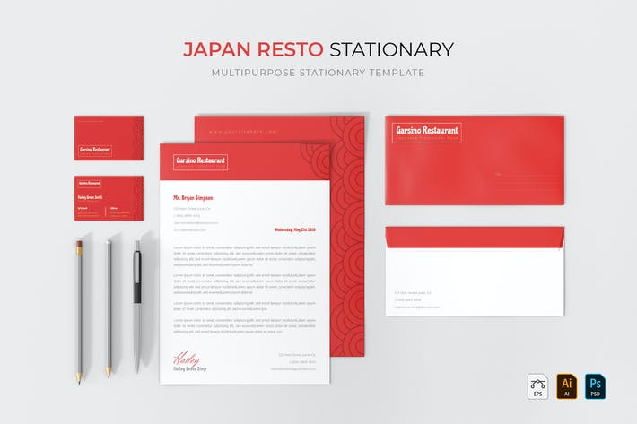 Thumbnail for Japan Resto | Stationary
