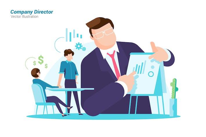 Thumbnail for Company Director - vector Illustration