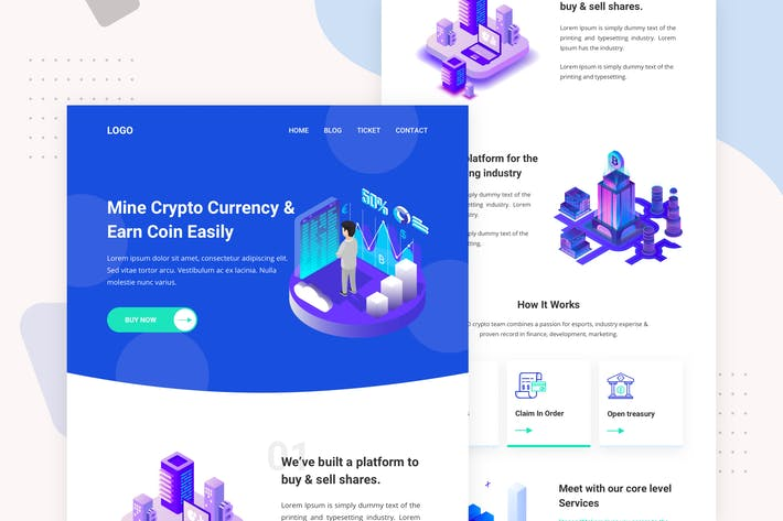 Thumbnail for Cryptocurrency - Email Newsletter