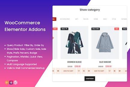 WooCommerce Elementor Addons