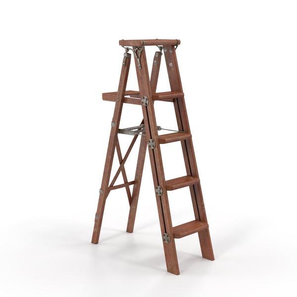 Vintage Painting Ladder