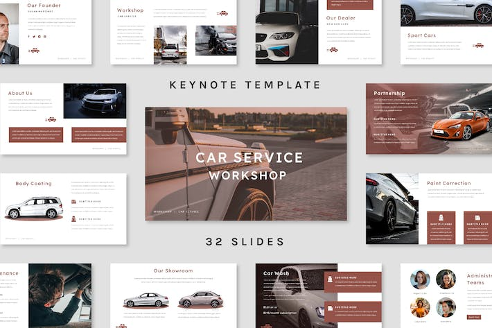 Thumbnail for Workshop - Keynote Template