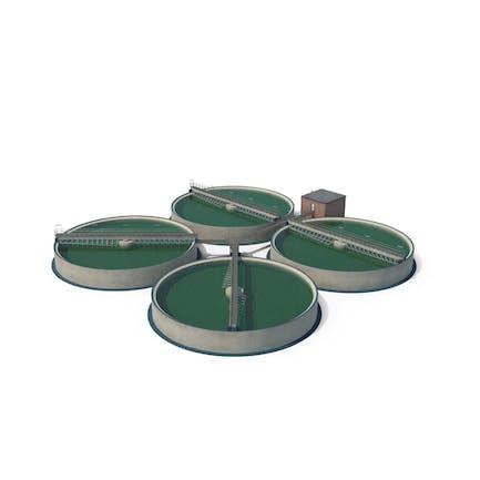 Wastewater Circular Clarifiers
