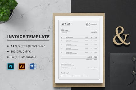 Invoice Word Doc Template