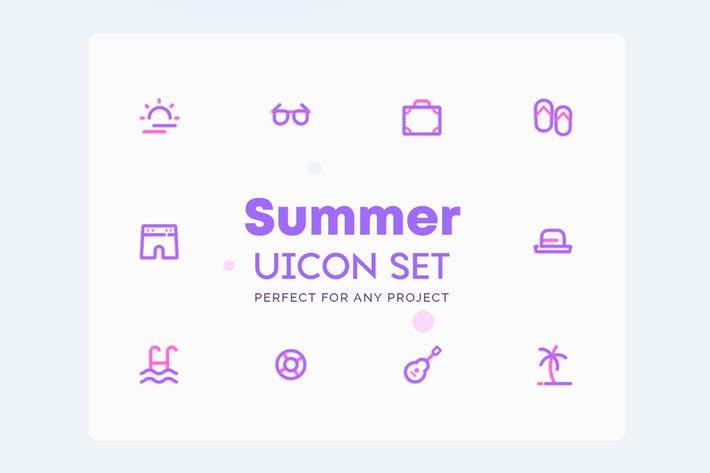 Thumbnail for UICON Summer Icons