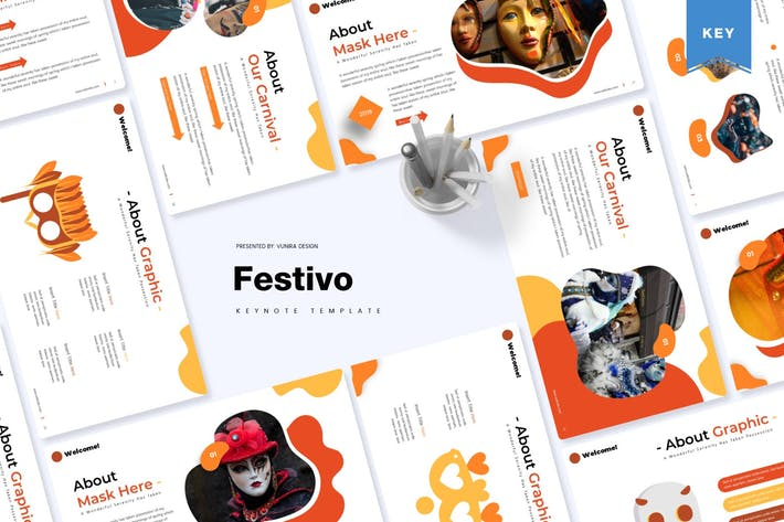 Thumbnail for Festivo | Keynote Template