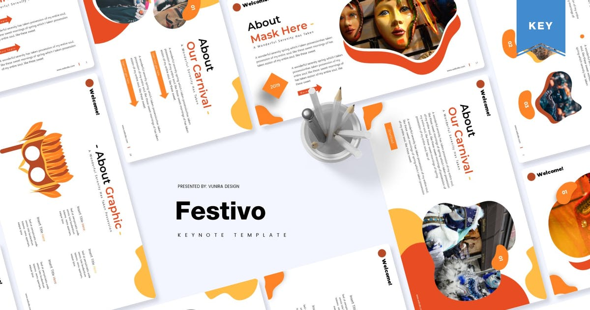 Download Festivo | Keynote Template by Vunira