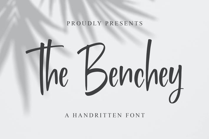 Benchey - Handwritten Font