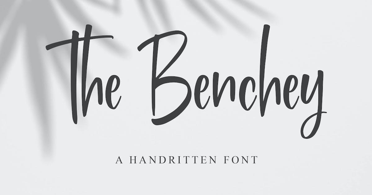 Download Benchey - Handwritten Font by Blankids
