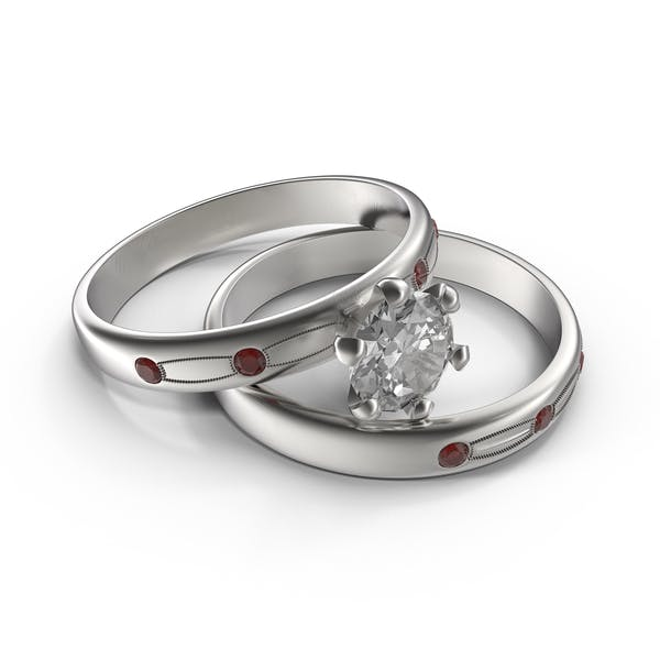 Thumbnail for Silver Wedding Rings