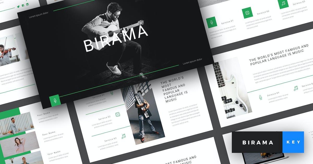 Birama - Music Keynote Template by StringLabs