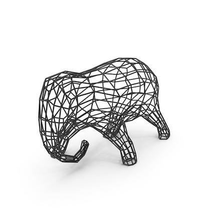 Elefanten-Skulptur