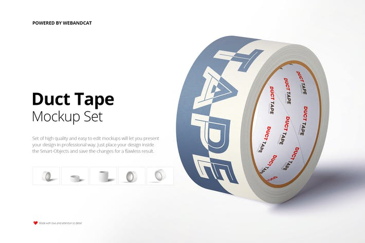 Thumbnail for Paper Duct Tape Mockup