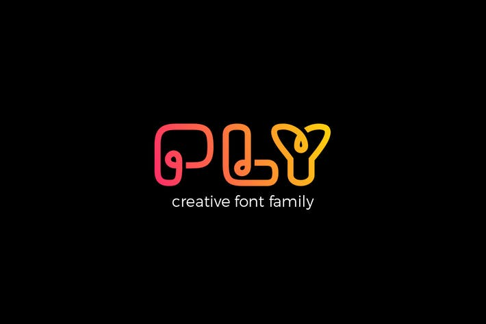 Cover Image For PLY font family