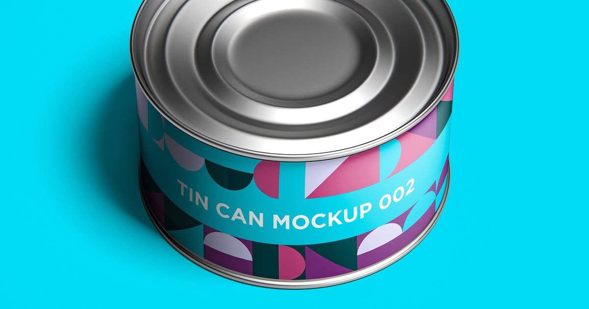 Download Tin Can Mockup 002 by traint