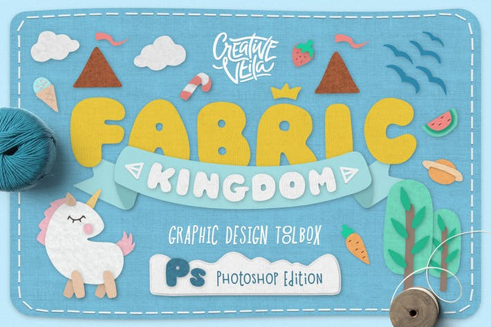 Thumbnail for Fabric Kingdom Photoshop Edition