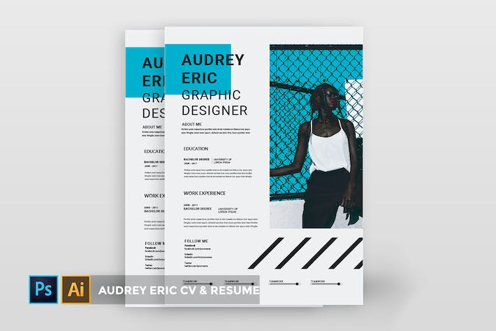 Cover Image For audrey eric | CV & Resume