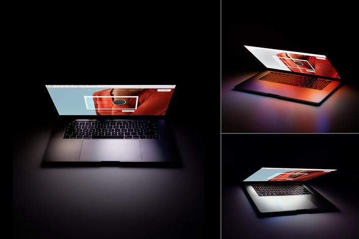 Thumbnail for Laptop Screen Mockup psd