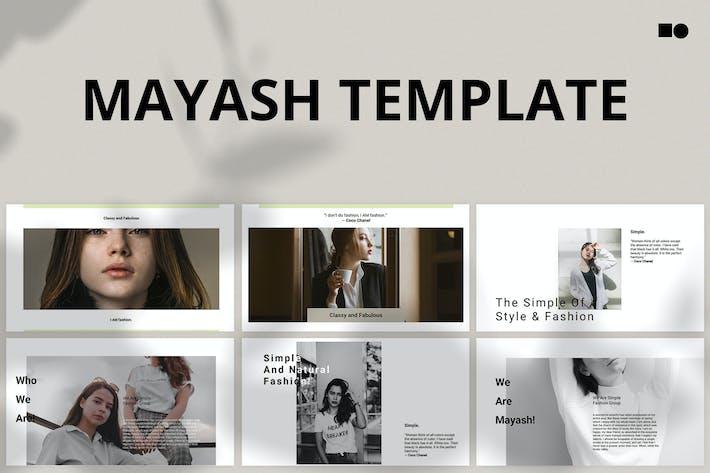 Thumbnail for Майаш - Keynote