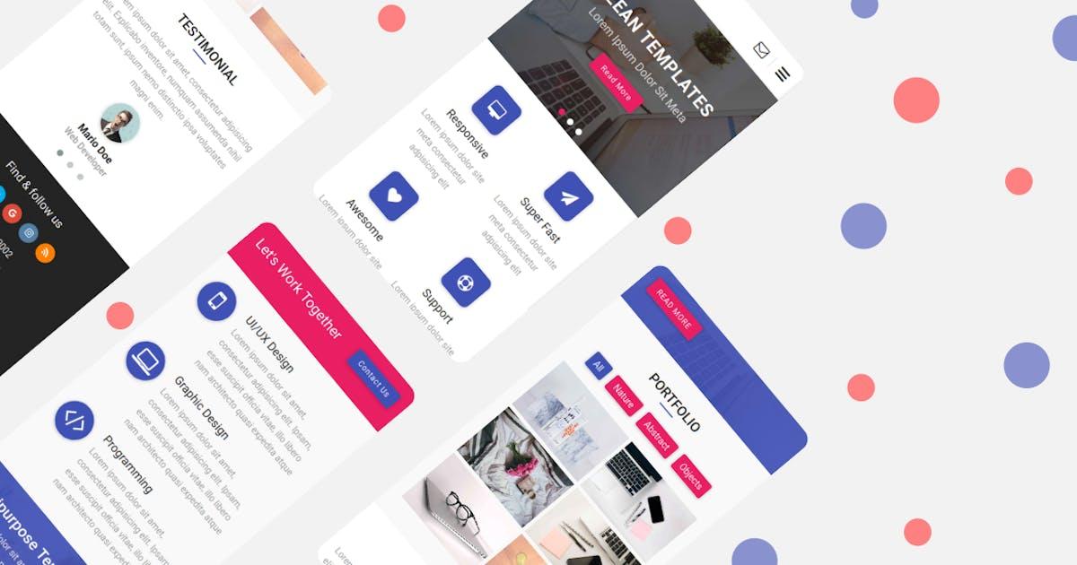 Download Uilabs - Multipurpose UI Kit Mobile Template by rabonadev