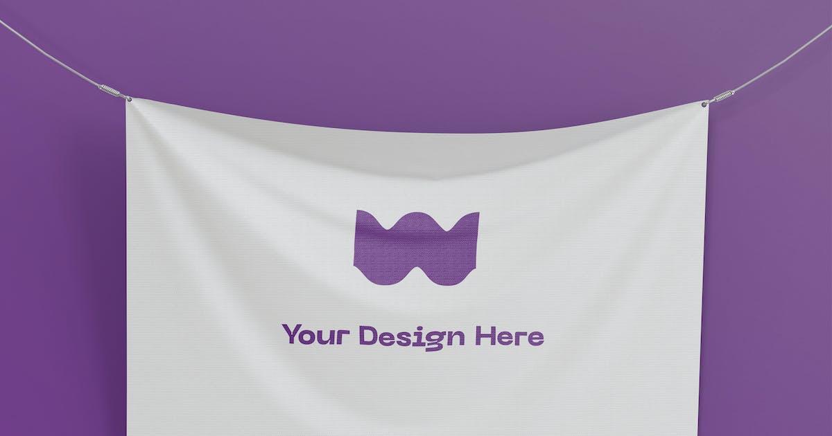 Download Flag Mockup by megostudio